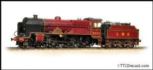 BACHMANN 31-215SF LMS 5XP 'Patriot' 5551 'The Unknown Warrior' - DCC Sound *PRE ORDER £237.96*